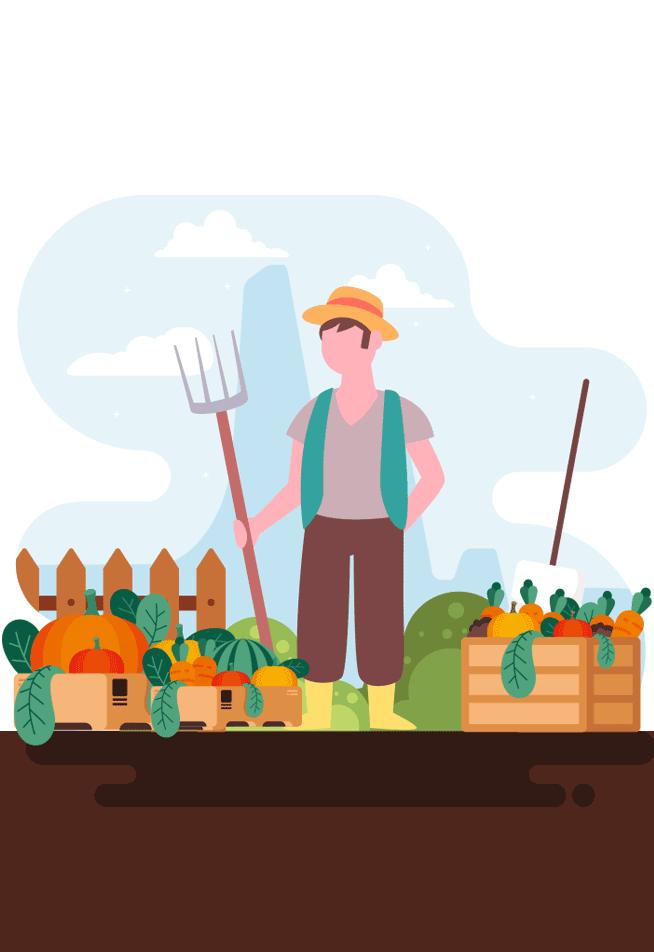 محصول کشاورزی دارید؟