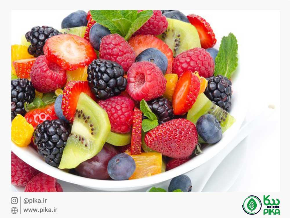 رژیم میوه و سبزیجات سالم پیکا