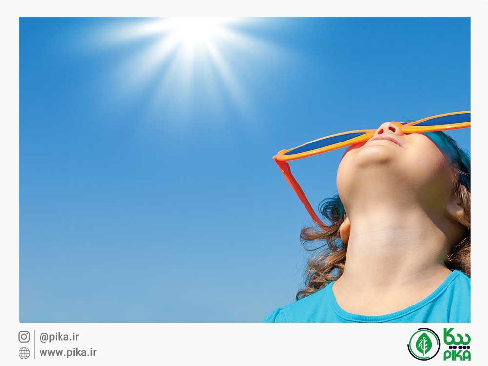 ویتامین دی از طریق نور خورشید