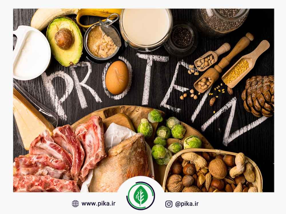 پروتئین در میوه ها